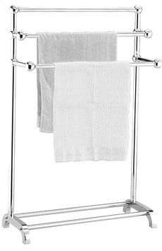 Luxury Wall Mounted Towel Rack with Shelf