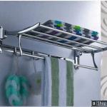 Order Now - Luxury Wall Mounted Towel Rack with Shelf