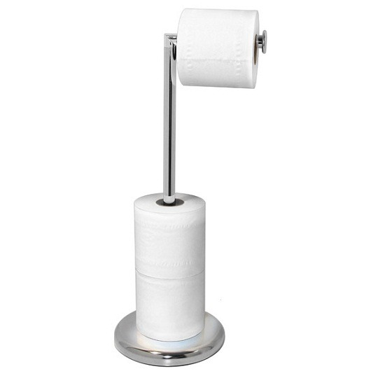 Suction cup toilet paper holders