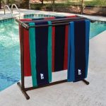 swimming Outdoor Towel Rack
