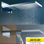 Dual Rainfall shower