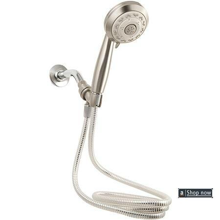 Install Handheld Shower Head Hose Pipe