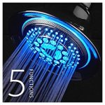 Tempreture Controlled LED Shower Head