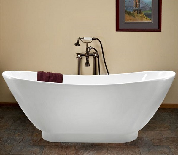 how to clean tub weekly