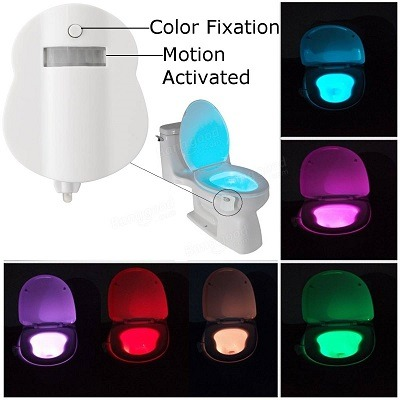 Top Toilet Bowl Light